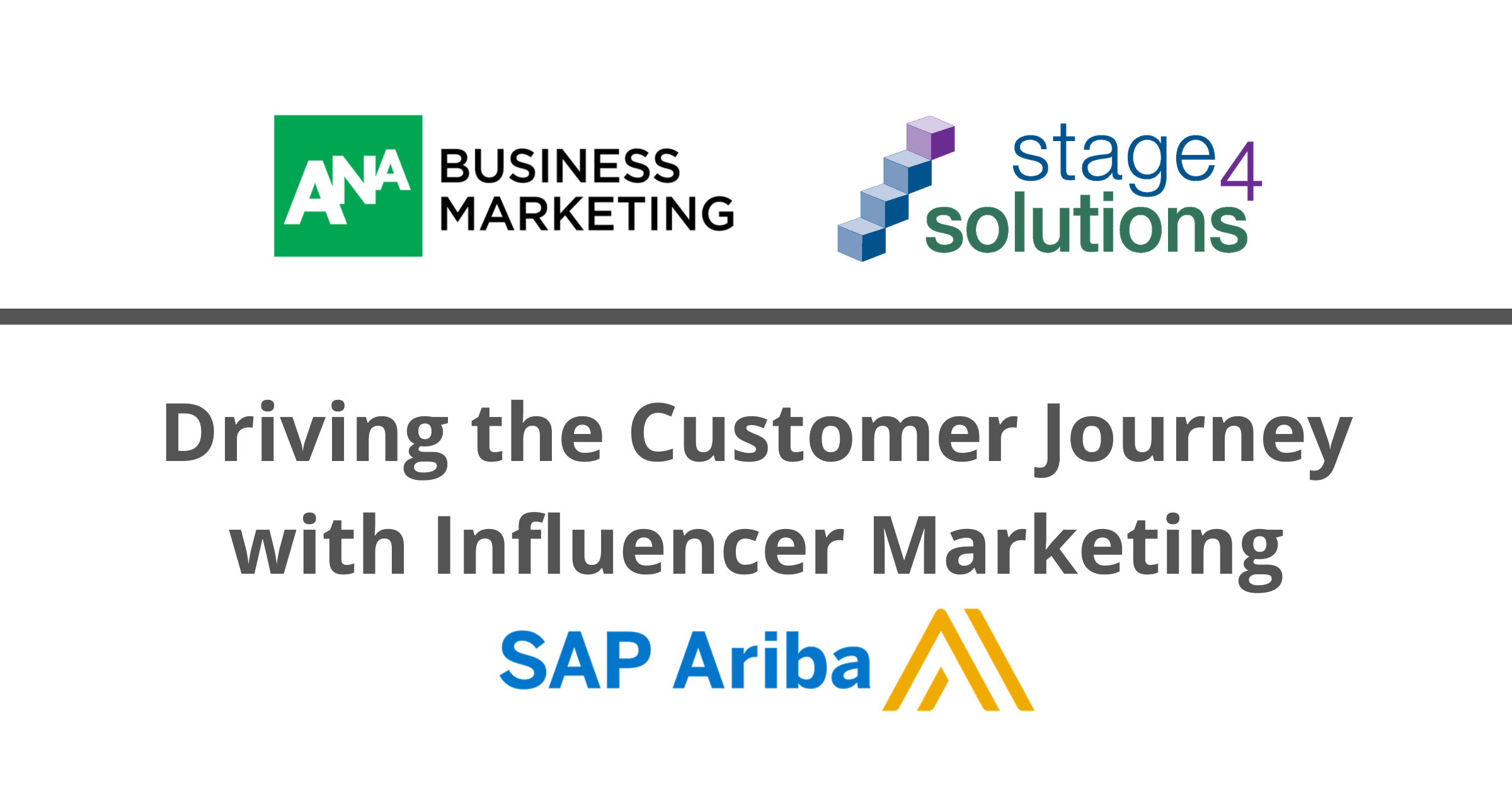 Driving the Customer Journey with Influencer Marketing