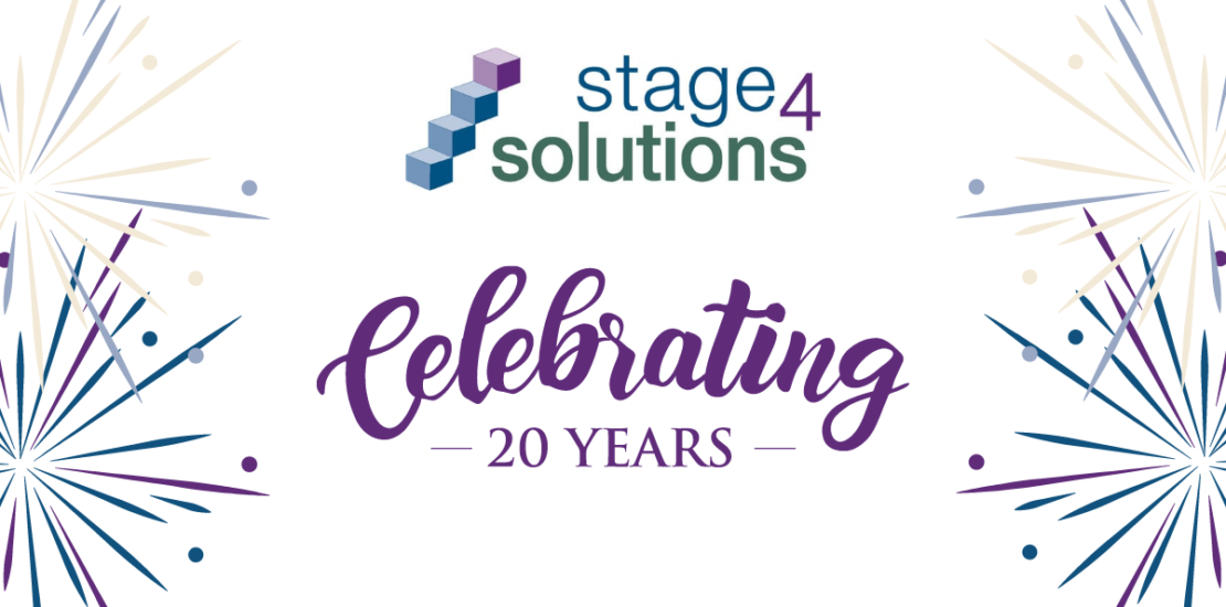Stage 4 Solutions 20 year anniversary celebration